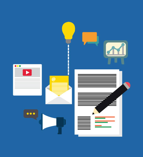 Business to business content marketing