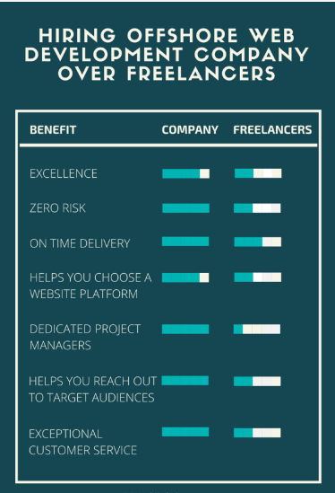 Company developer vs freelancers