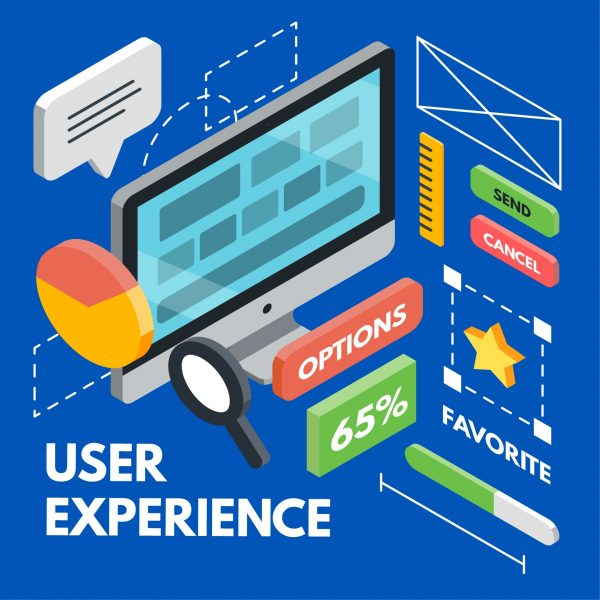 Single page web design- User Experience